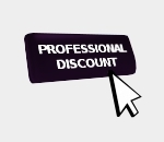 Professional Discount Not Applicable