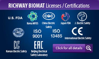 The Amethyst Richway BioMat - 1-888-5-BIOMAT - Worldwide Shipping